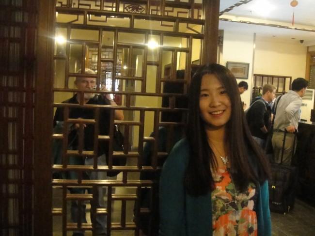 Beijing: Tina