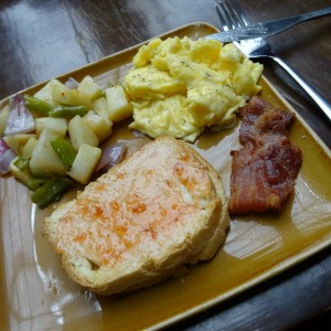 Das gute alte American Breakfast