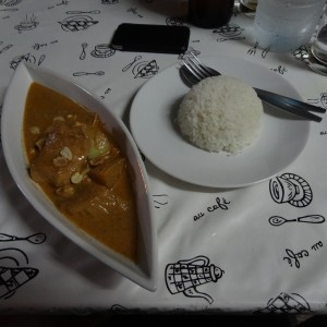 Massaman Curry @ YinYang Restaurant
