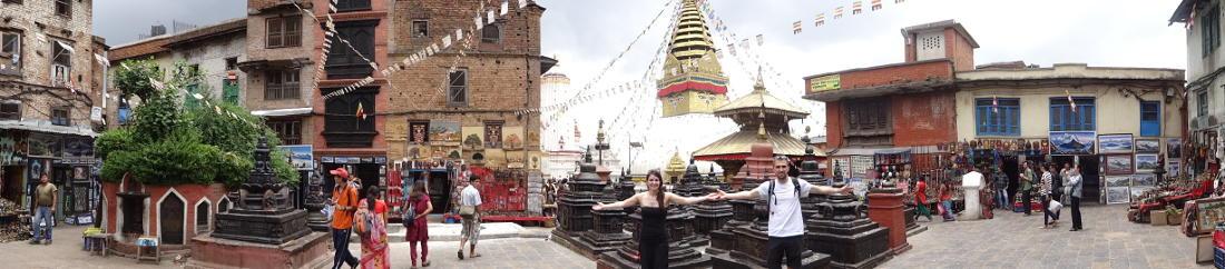 Kathmandu: Wahrzeichen der Stadt - Swayambhunath