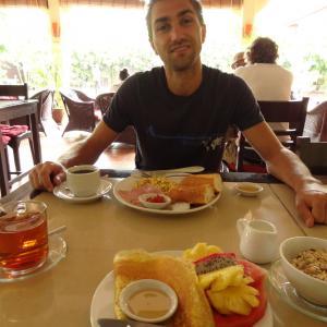 Lotus Lodge, Siem Reap: Frühstück