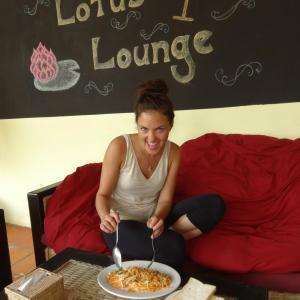 Lotus Lodge, Siem Reap: Gründer Mango Salat
