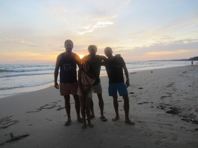 Verquatscht bis zum Sonnenuntergang: Ein toller Tag mit Sascha und Dirk