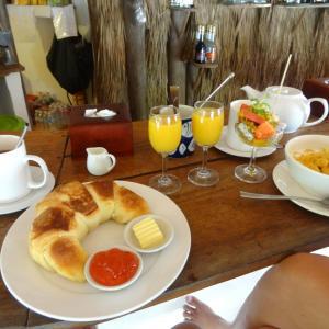 Mushroom Point, Sihanoukville: Frühstück